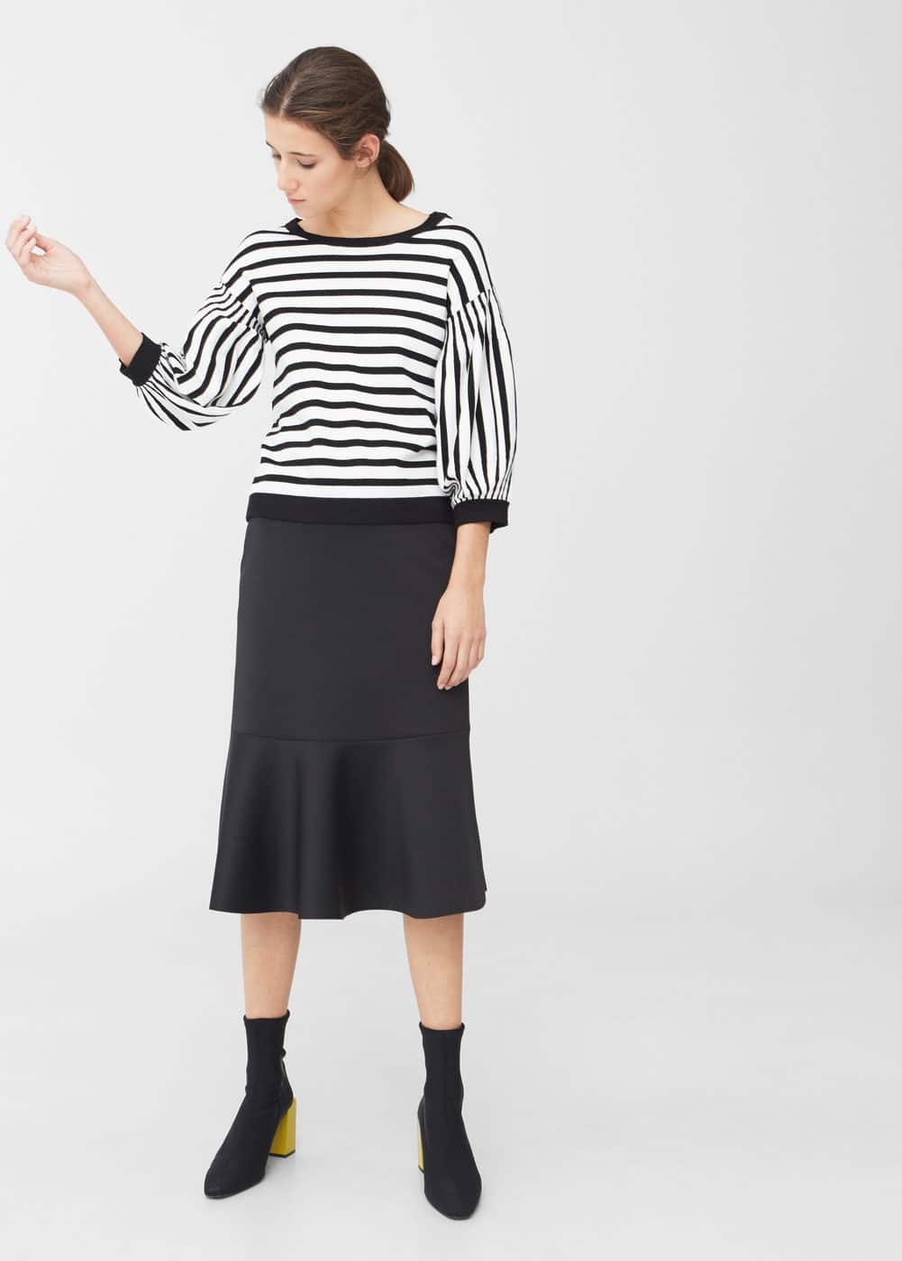 Puffed sleeves sweater   MNG