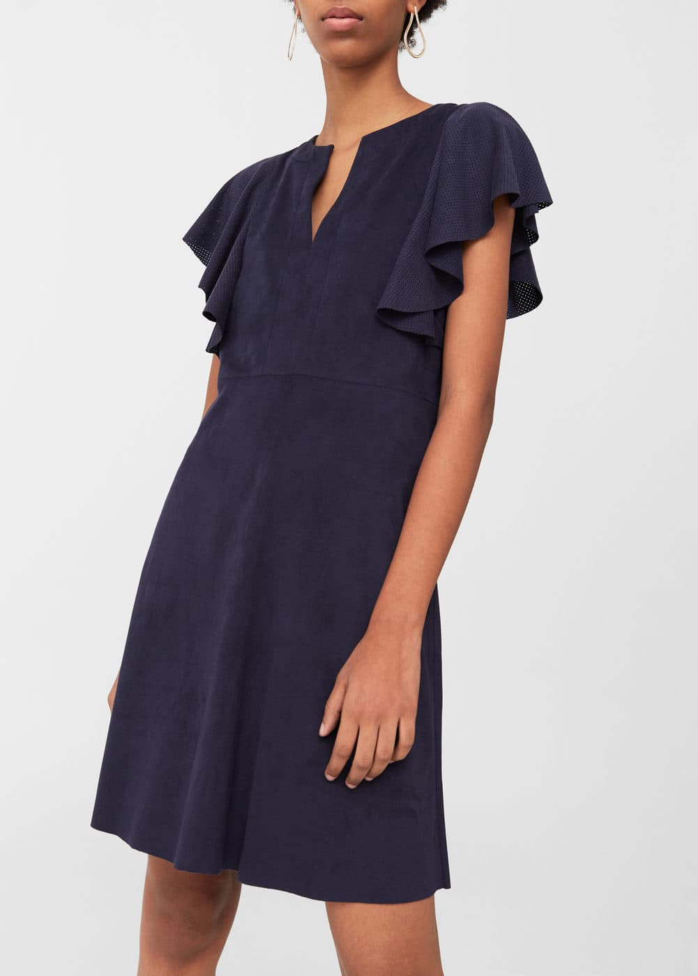 Faux suede dress | MNG
