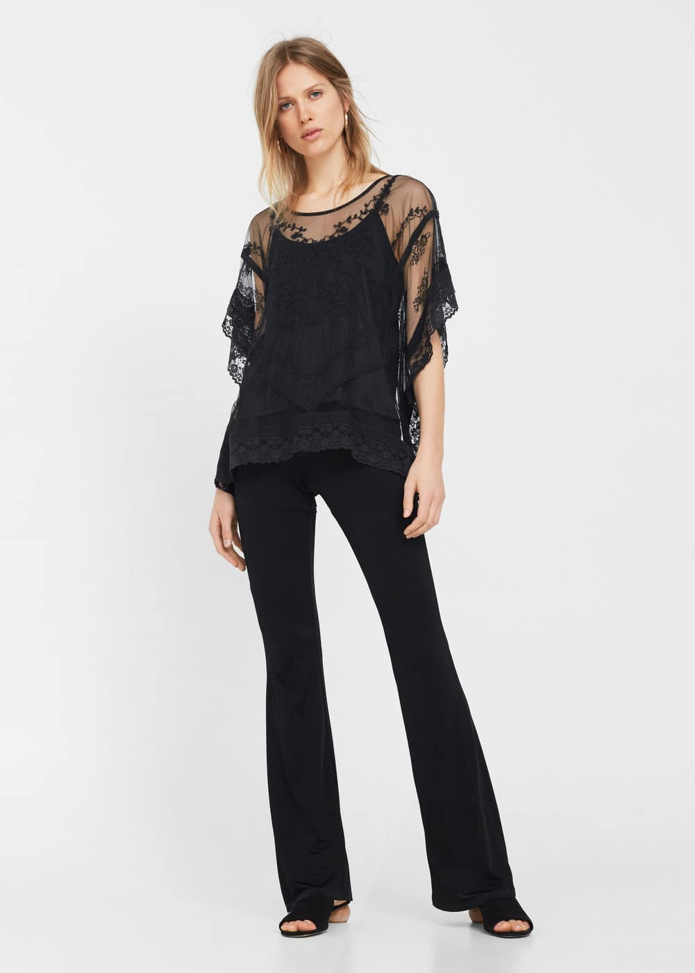 Lace blouse | MNG