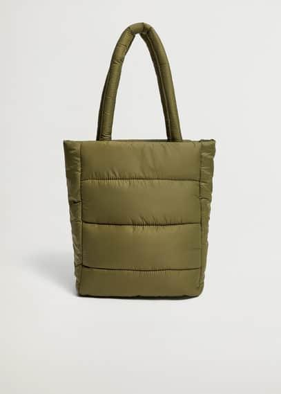 Стёганая сумка-шоппер  - Eightg
