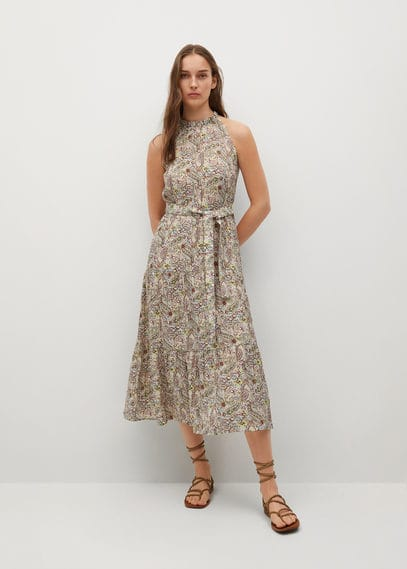 Платье с принтом пейсли - Zima