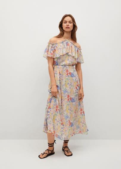Платье с воланом - Loto