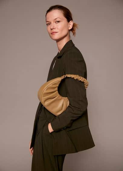 Круглая сумка под крокодила - Plie