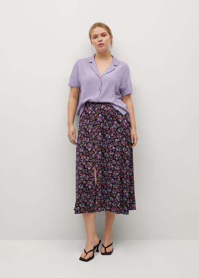 Блузка с лацканами - Pico8