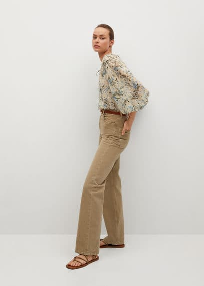Блузка с цветочным принтом - Paris