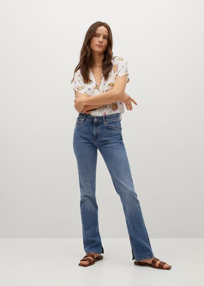 Струящаяся рубашка с принтом - Shirty