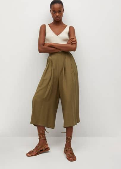 Женские брюки Mango (Манго) 87027132: изображение 1