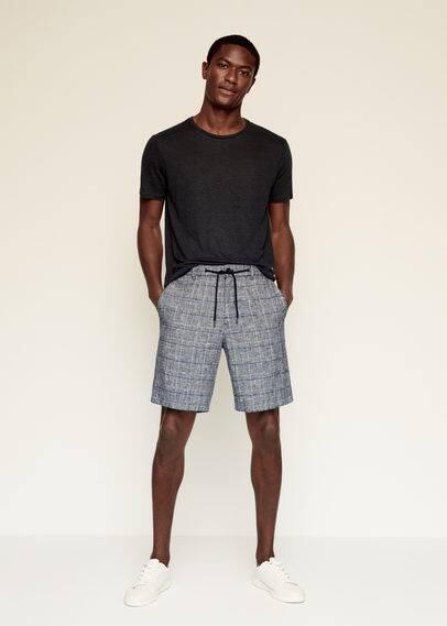 Мужские шорты Mango (Манго) 87029025: изображение 1