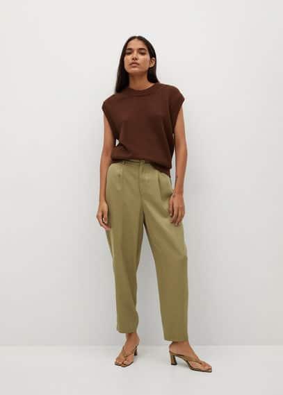 Женские брюки Mango (Манго) 87035646: изображение 1