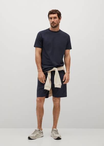 Мужские шорты Mango (Манго) 87035906: изображение 1
