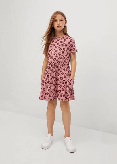 Bedrukte katoenen jurk