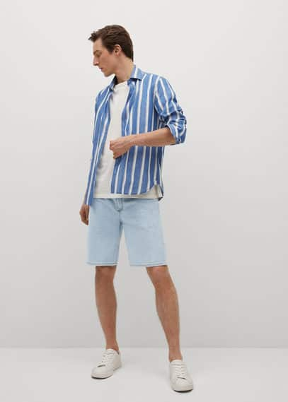 Мужские шорты Mango (Манго) 87047115: изображение 1