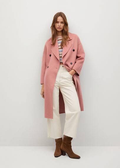 Шерстяное пальто ручной работы - Picarol
