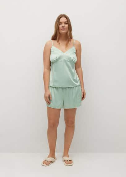 Пижамные шорты из атласа - Somni-i