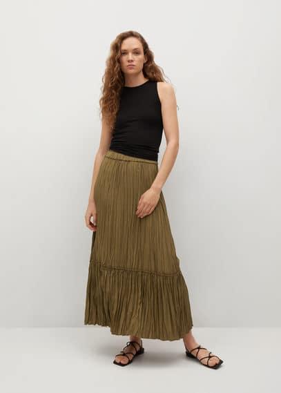 Плиссированная миди-юбка - Brownie