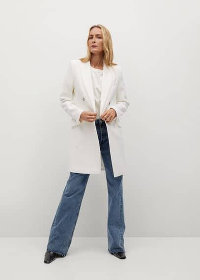 Структурное пальто в мужском стиле - Sugus
