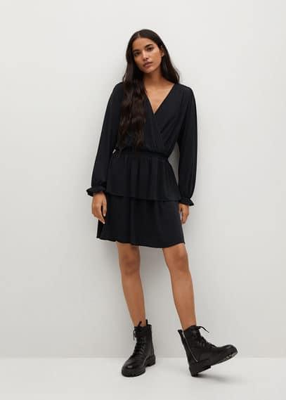 Платье с запáхом - Moss8