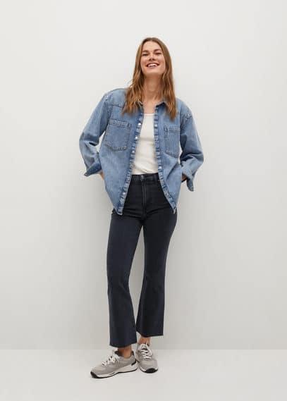 Укороченные джинсы flare - Sienna