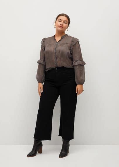 Блузка с принтом и воланами - Bengala