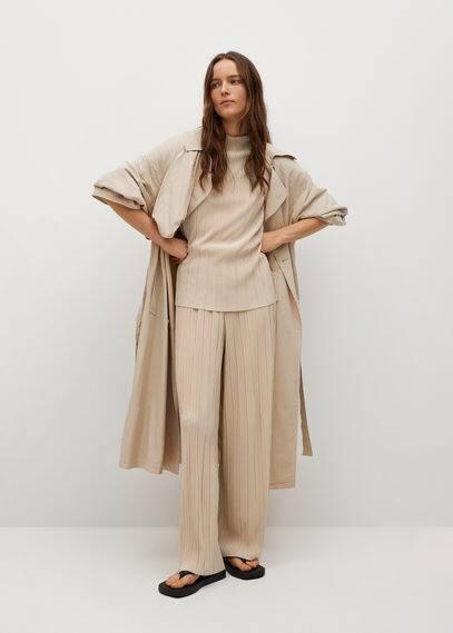 Струящиеся плиссированные брюки - Jungle-a