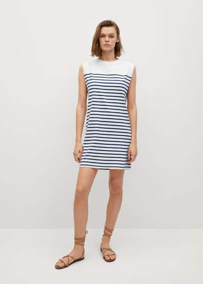 Прямое платье хлопок - Picasa