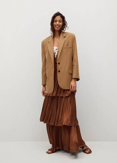 Струящаяся юбка с воланами - Rocio