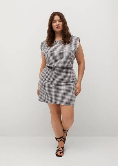 Платье в клетку виши - Vicky