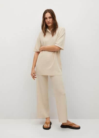 Прямые брюки из трикотажа - Minim-a