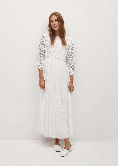 Миди-платье из гипюра - Copo-a