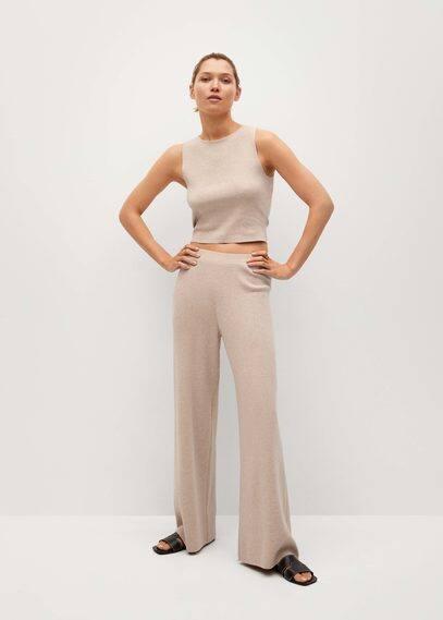 Прямые брюки из трикотажа - Guiroa
