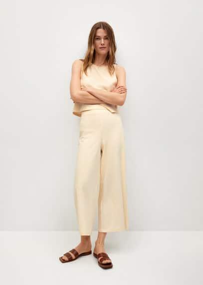 Женские брюки Mango (Манго) 87097131: изображение 1