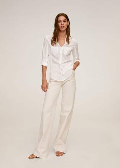 Рубашка slim fit из хлопка - Planita7-n