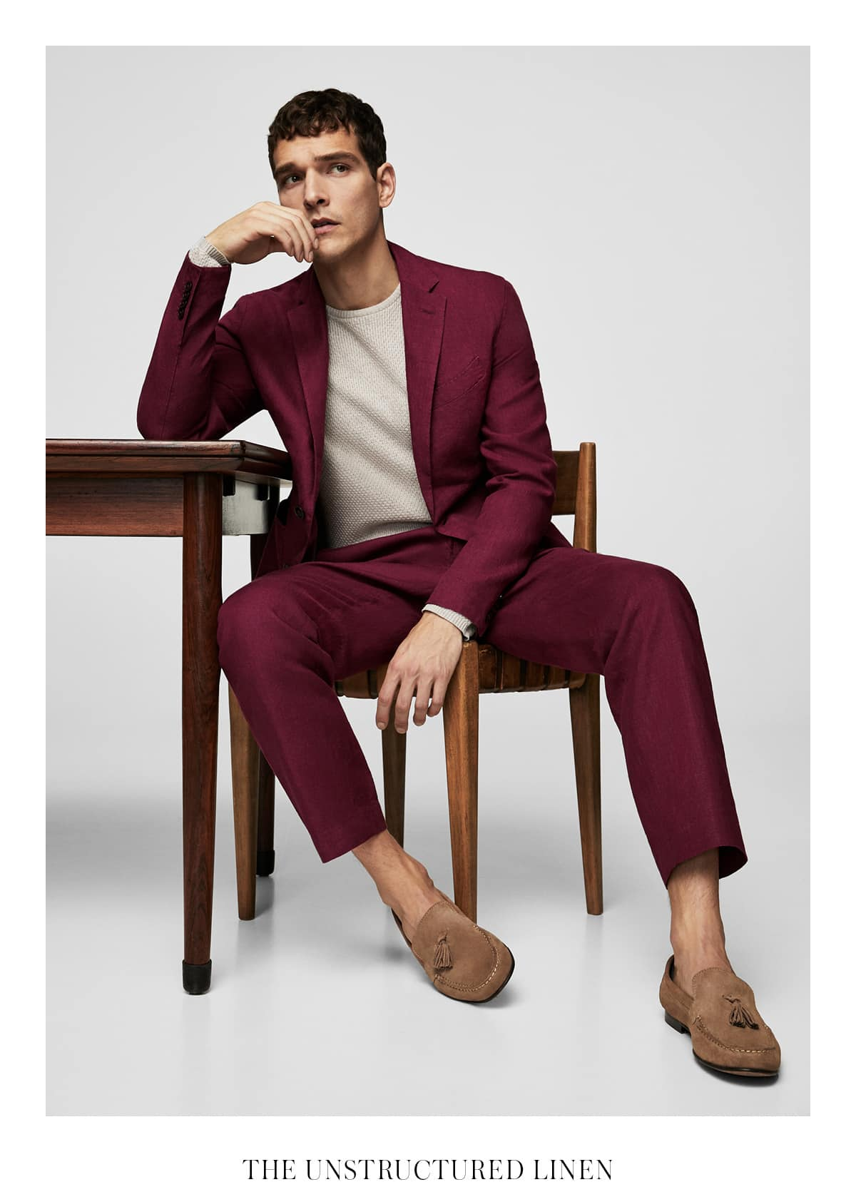The go-to tailoring type when the situation requires equal doses of comfort and sophistication.