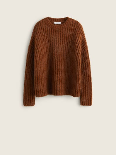 Pull-over grosse maille