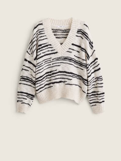 Pull-over maille mélangée